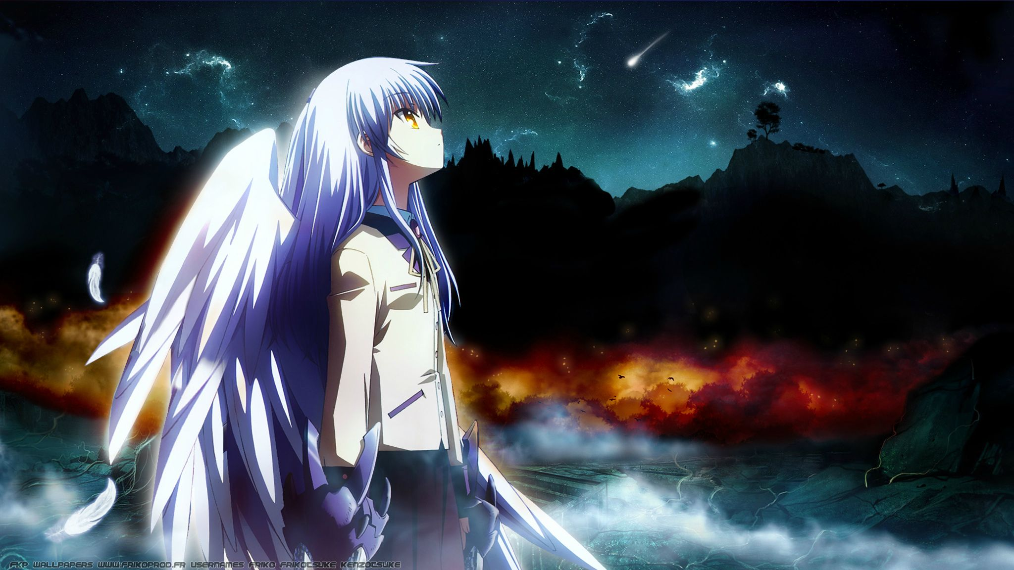 759 Angel Beats HD Wallpapers