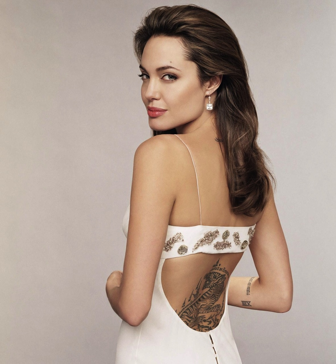 10 Hot Angelina Jolie Tattoos Images | Images Next