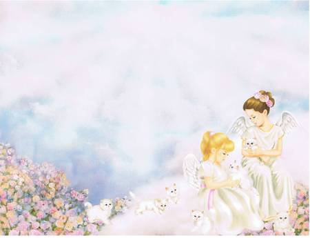 Angels and Kittens - Fantasy & Abstract Background Wallpapers on