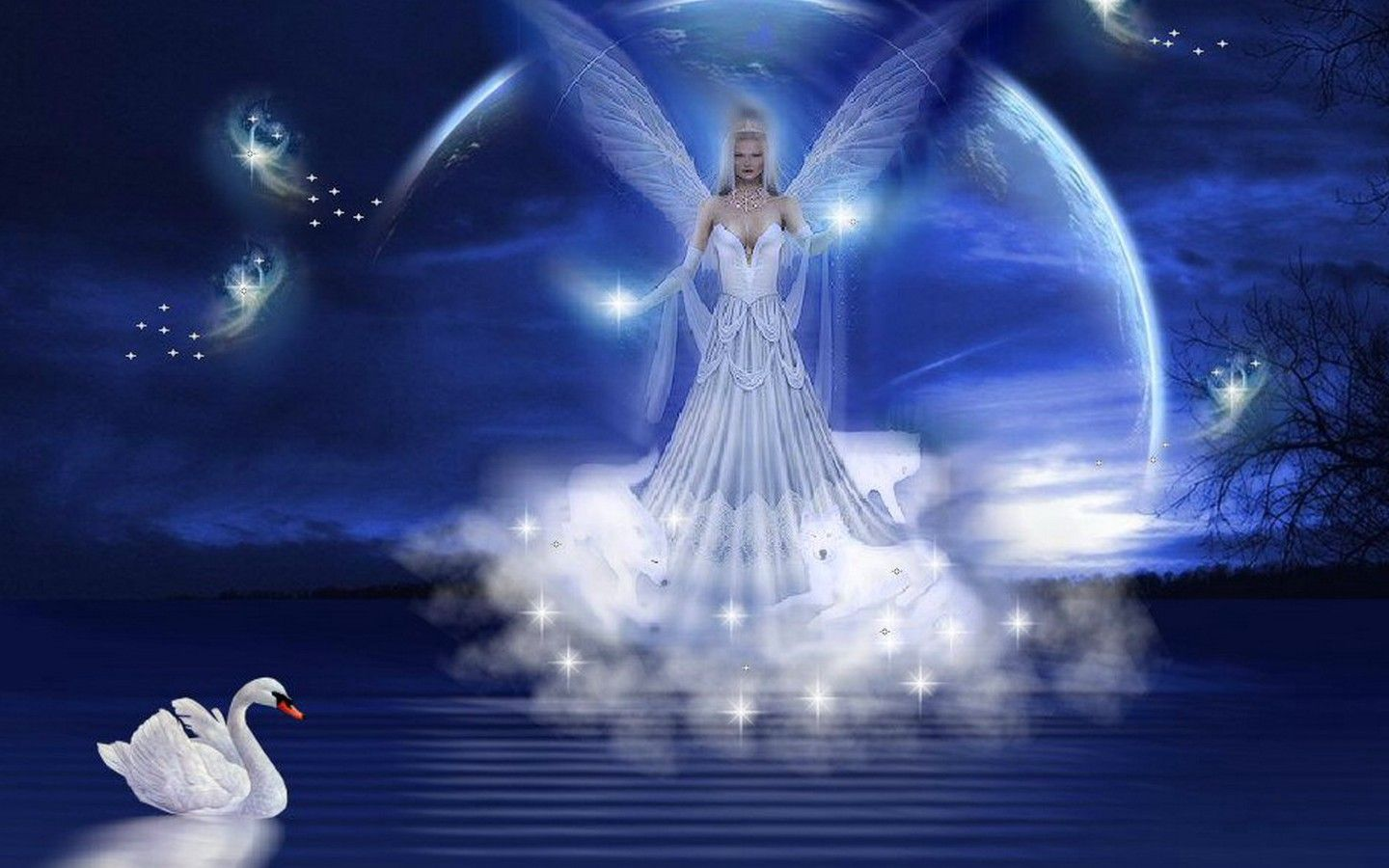 Collection of Angels Backgrounds on HDWallpapers