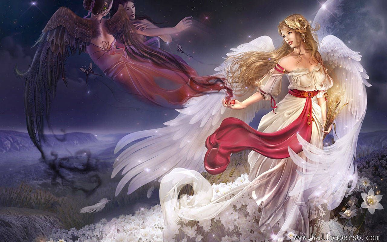 Beautiful Angel Wallpapers Group (48+)