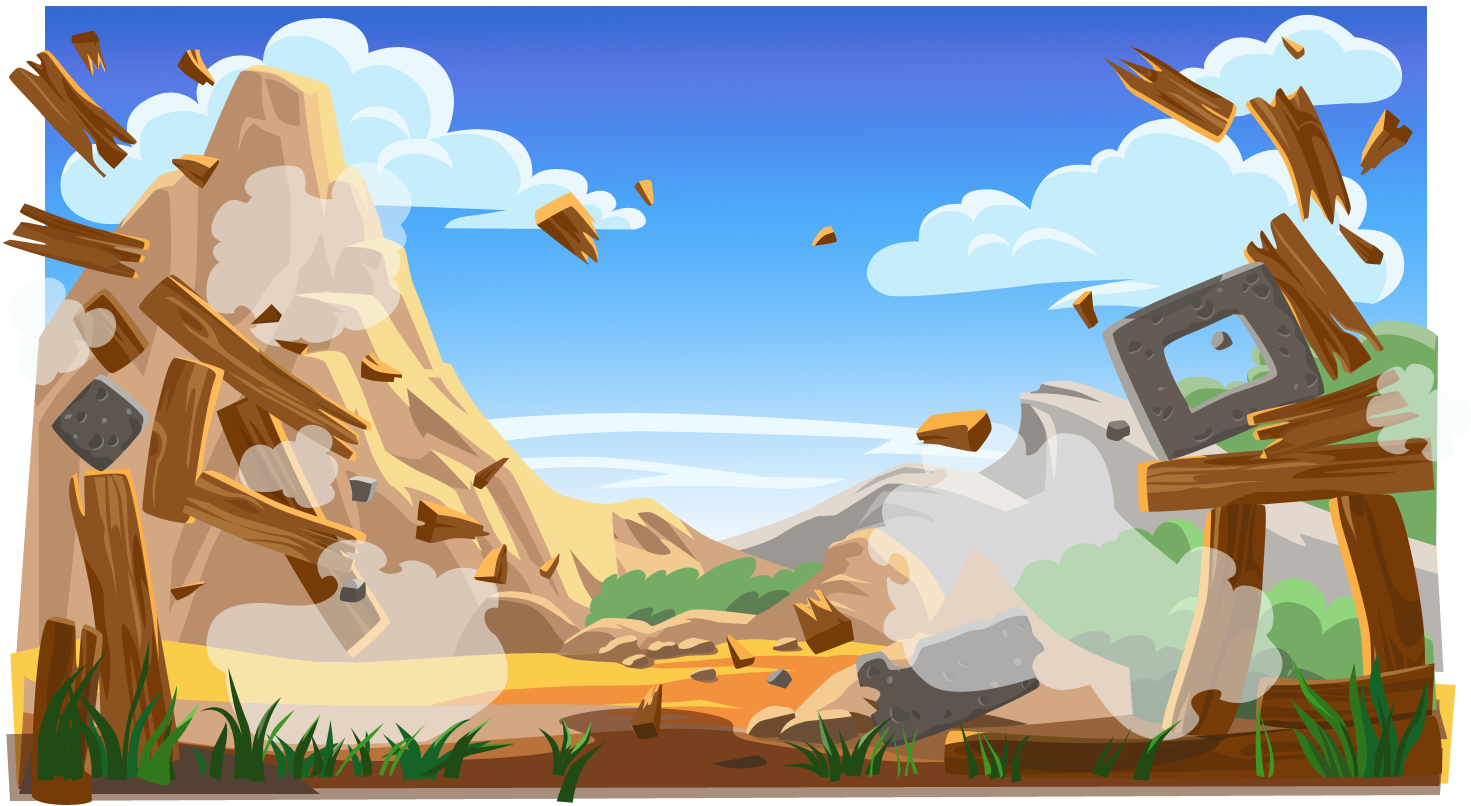 Background]Angry Birds Classic:Title Screen by nikitabirds on