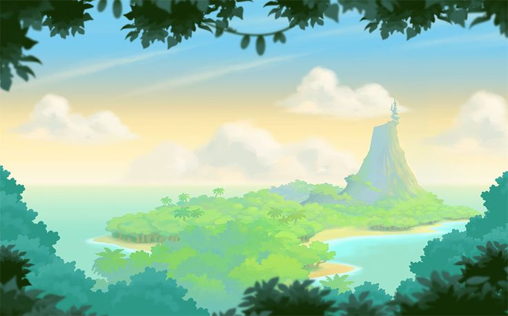 Angry Birds Stella Chapter One Background by jjnaas | bg_map