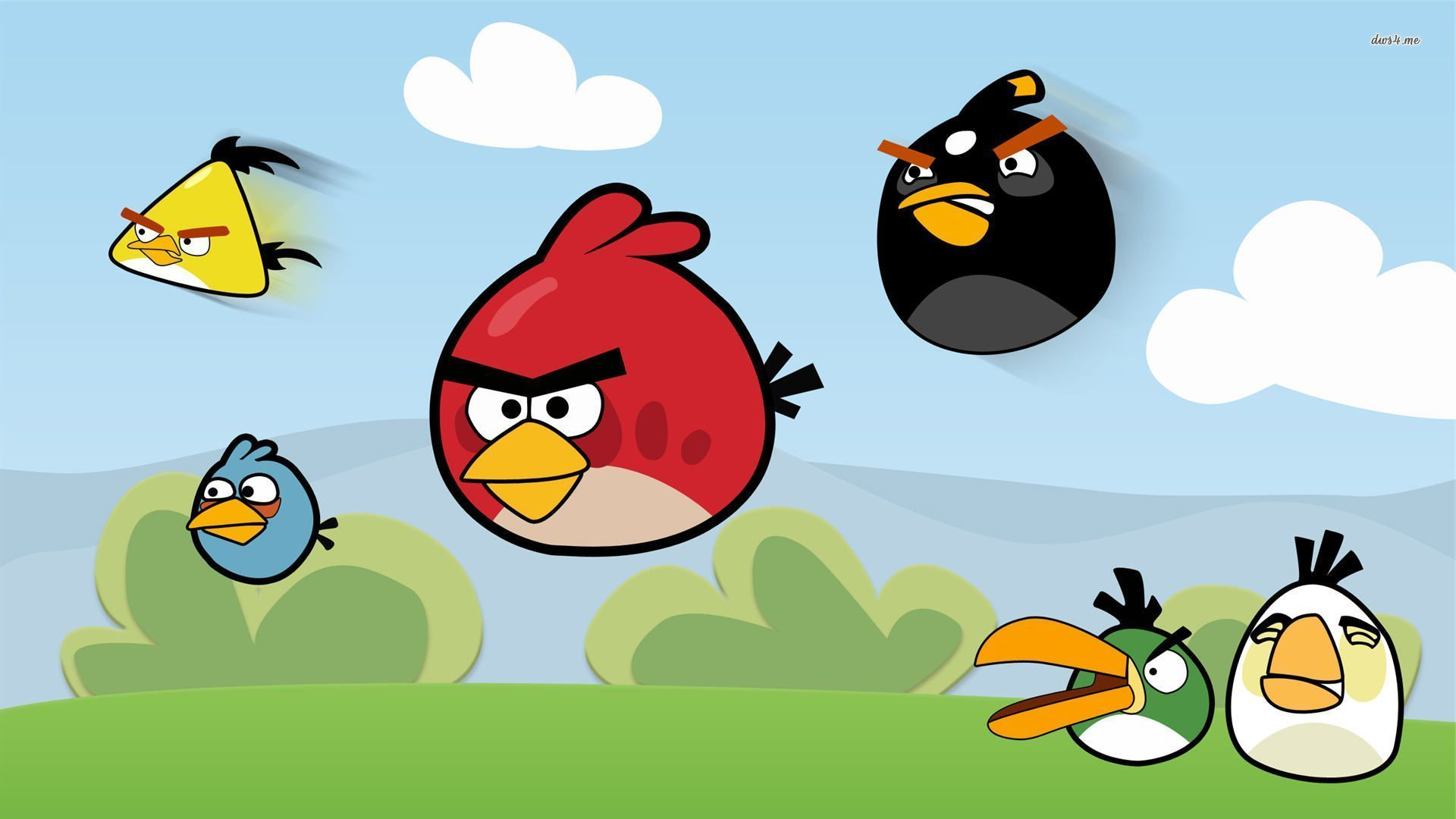 angry birds wallpaper - sf wallpaper
