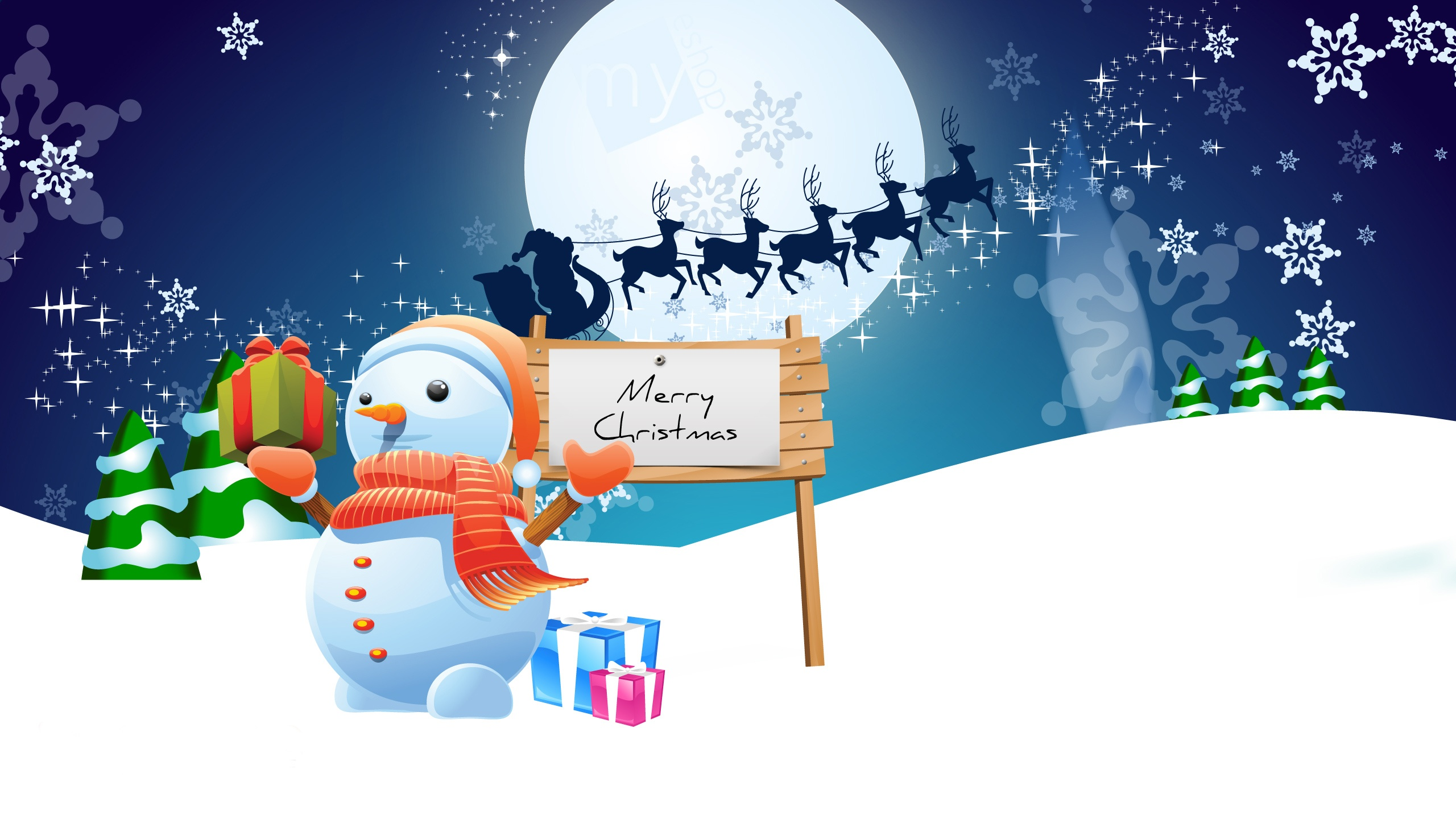 40 animated christmas wallpapers for 2015 - Animated Christmas Wallpaper