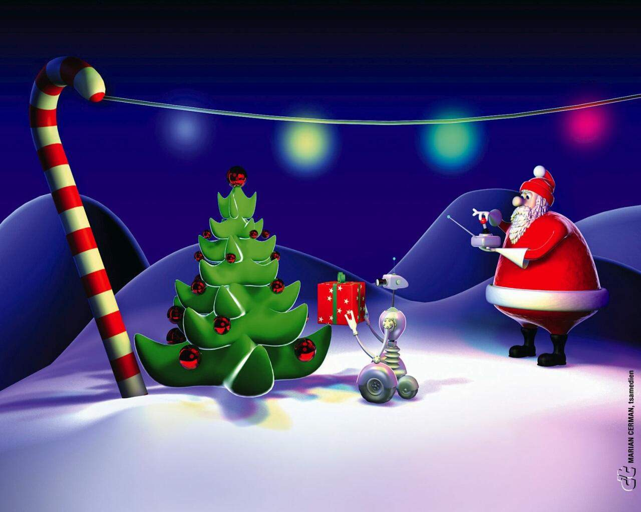Animated Christmas Wallpapers Free Group 52