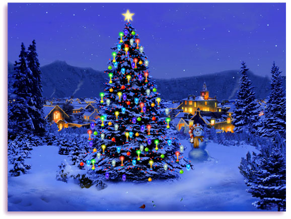 animated christmas wallpapers free #15