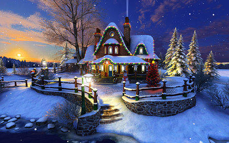 Animated Christmas Wallpapers | Free Pics Download For Android
