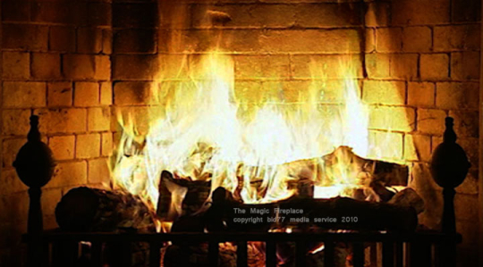 Animated fireplace wallpaper - SF Wallpaper