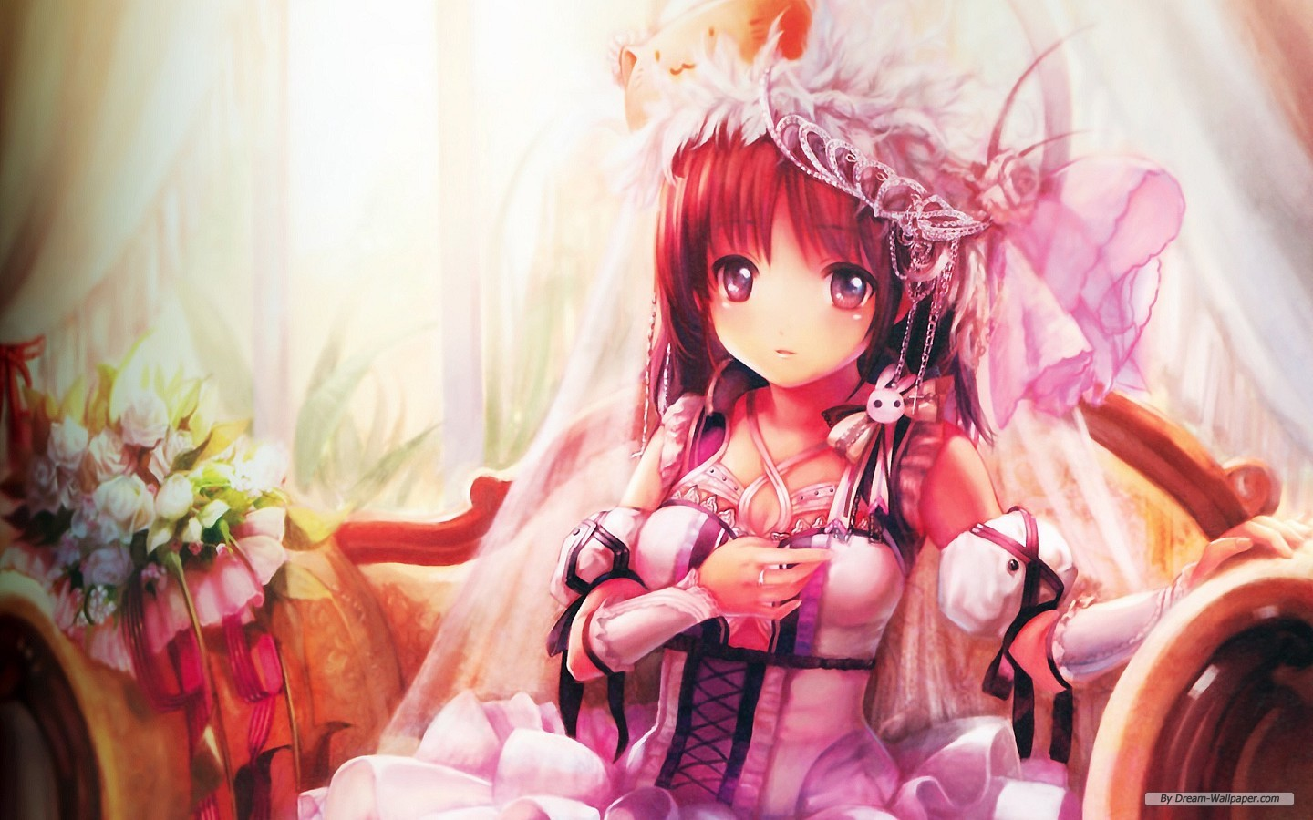 Beautiful Animated Girl Wallpapers Page 1