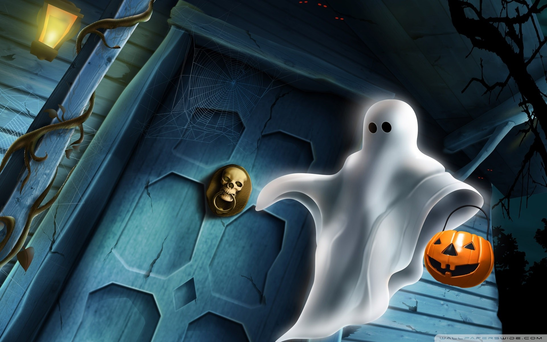 CFL:15 Scary Animated Halloween Wallpaper - Widescreen Wallpapers