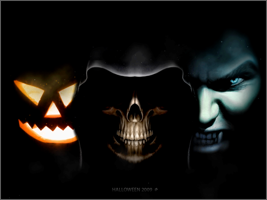 Animated Halloween Wallpaper for Computer - WallpaperSafari