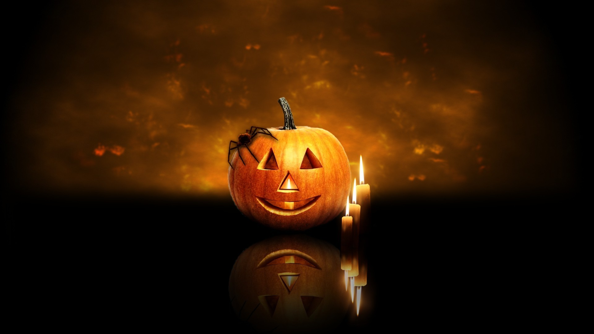 Animated Halloween Wallpapers with Music - WallpaperSafari