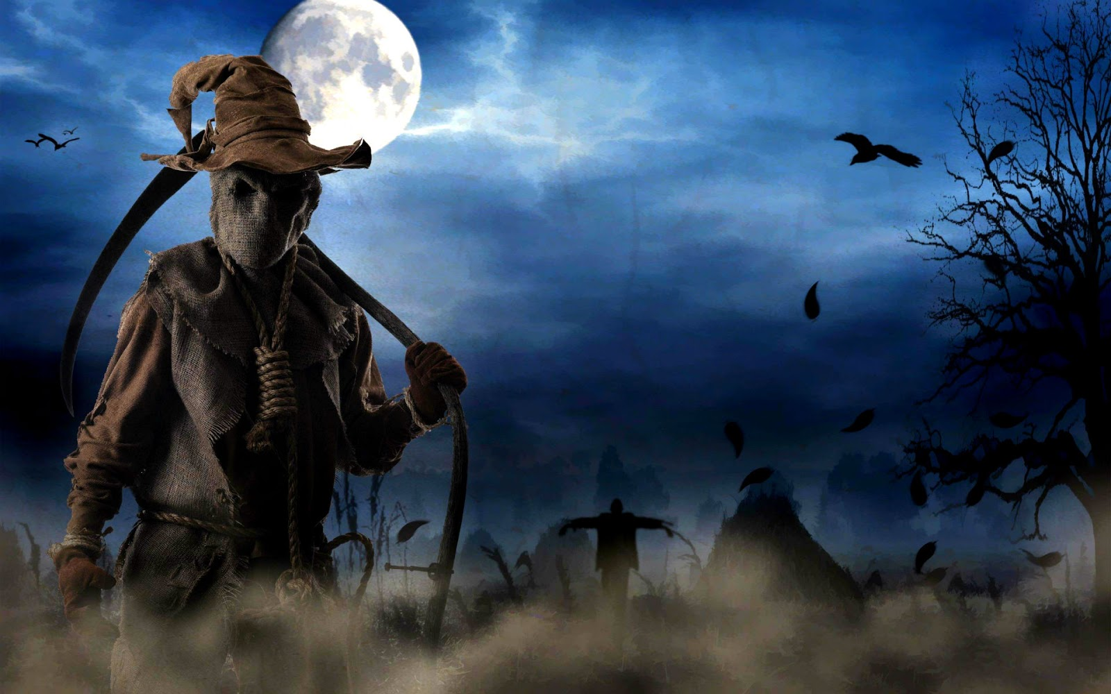 Scary Animated Halloween Wallpaper - WallpaperSafari