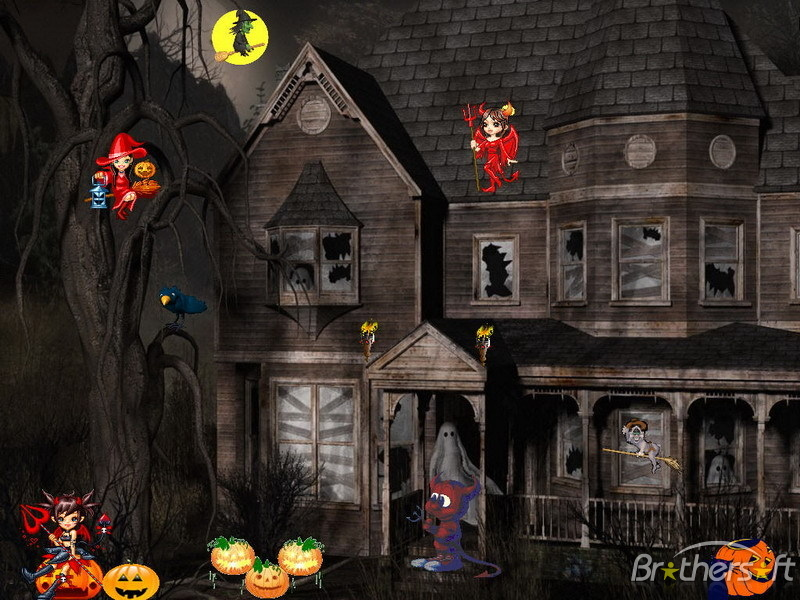 Halloween Animated with Sound Wallpapers - WallpaperSafari