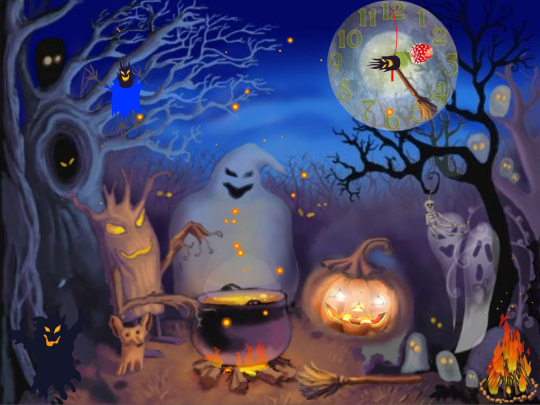 Happy Halloween Live Animated Wallpaper - Free download and