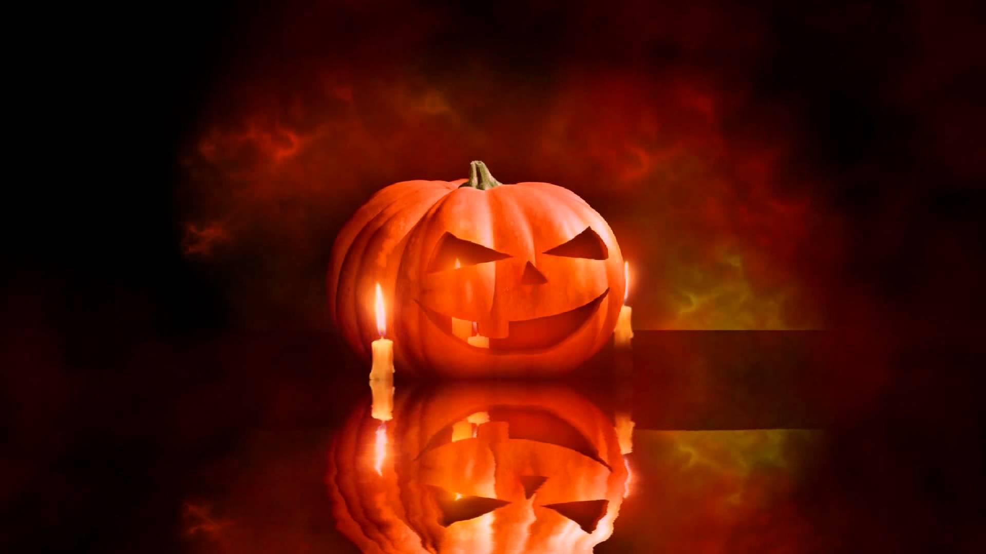 Halloween Animated Wallpaper http://www desktopanimated com - YouTube