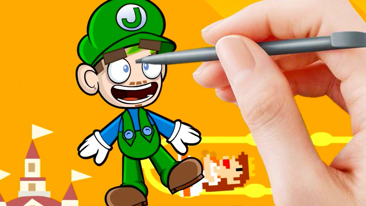 Jacksepticeye Animated | Super Mario Maker - YouTube
