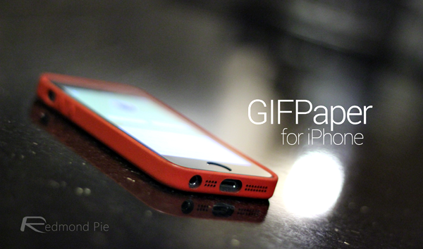 How To Set Animated GIF As Wallpaper On iPhone Running iOS 7