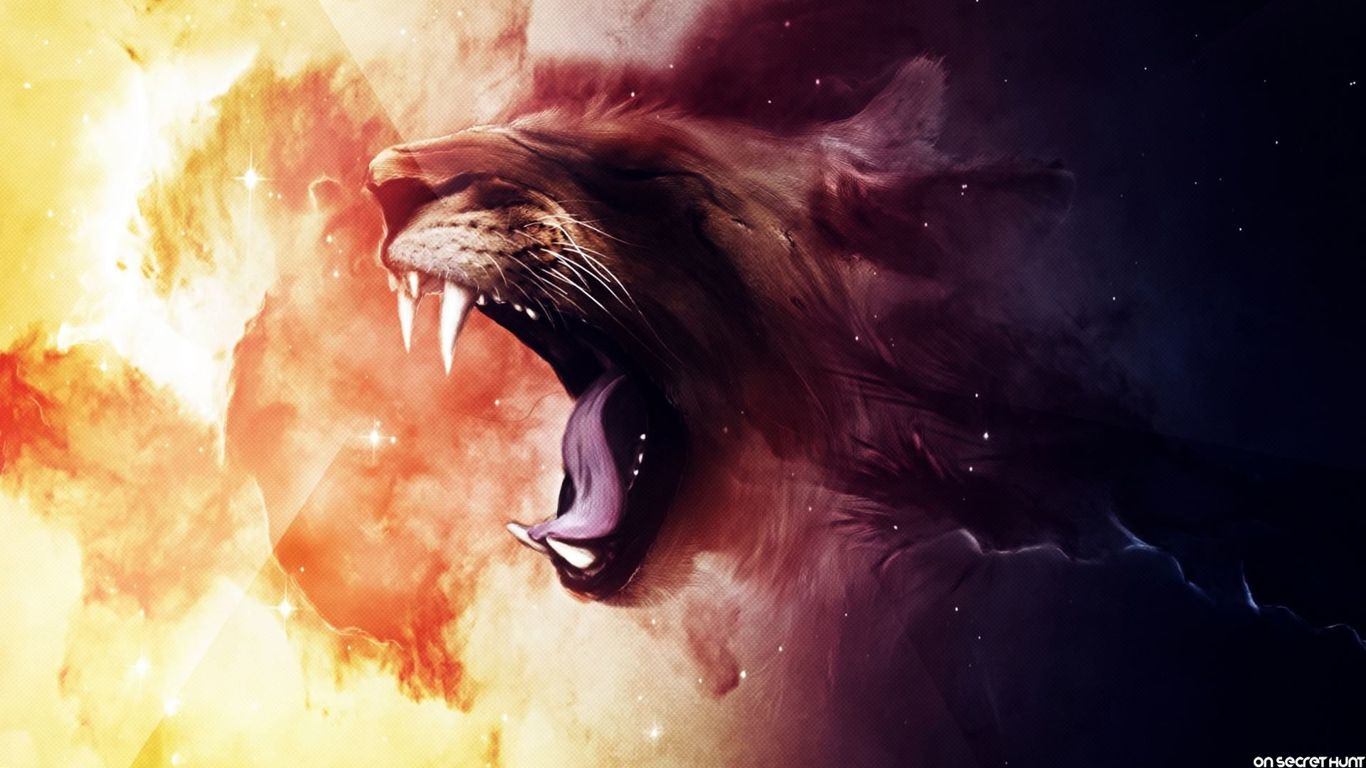 Image - Roaring-Animated-Lion-Wallpaper jpg | The Savage Lands