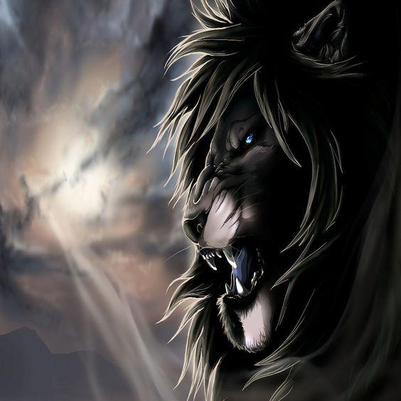 Black Lion Wallpaper | Animation - 3D Photos | Pinterest | Black