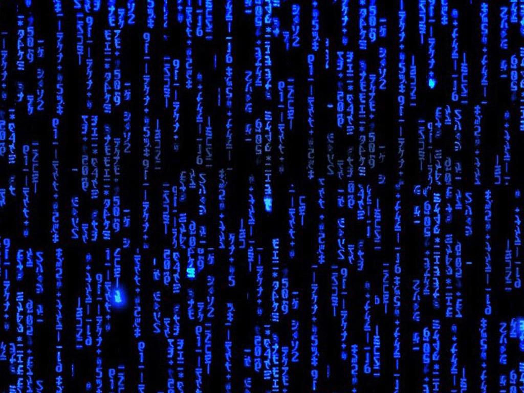Blue Matrix Wallpapers Group (75+)