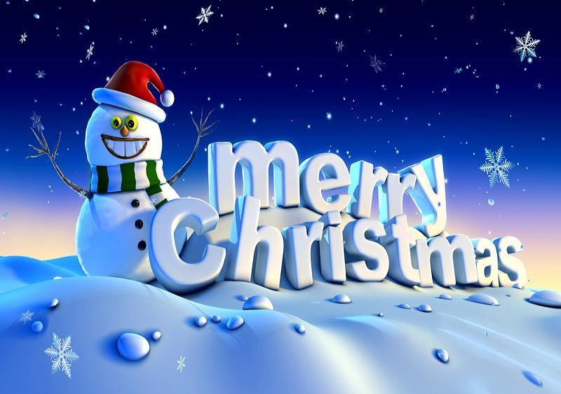 Animated Merry Christmas Wallpaper - wallpaper