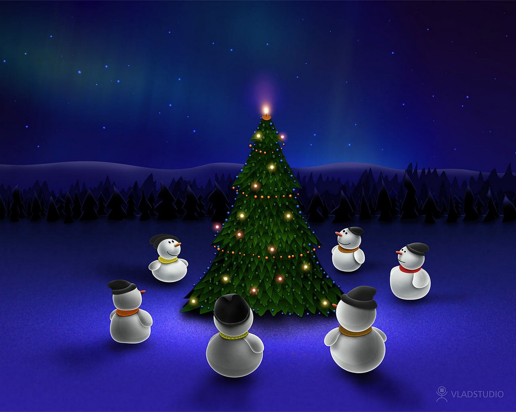 Animated Christmas Wallpapers Free Group (52+)