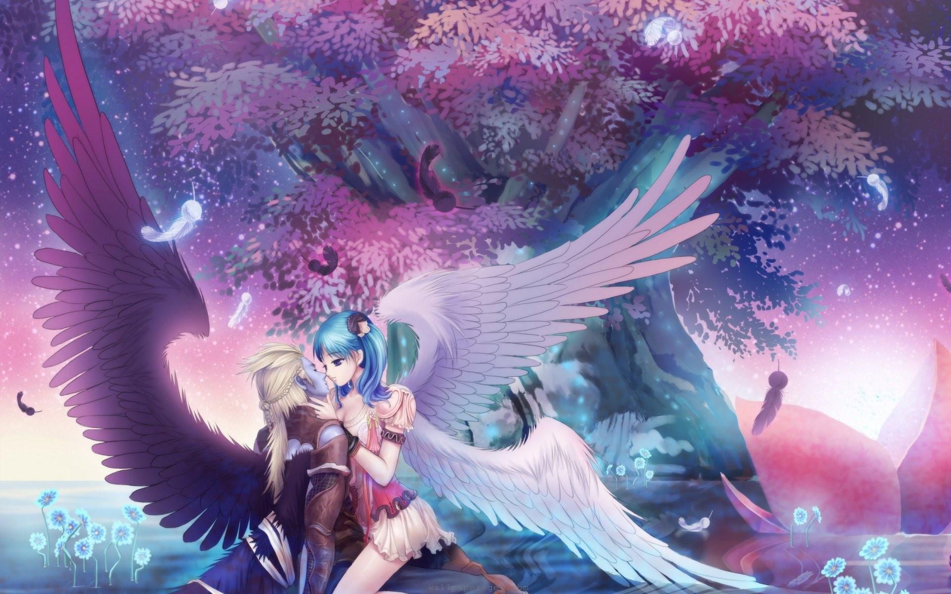Anime Angels Wallpaper Sf Wallpaper