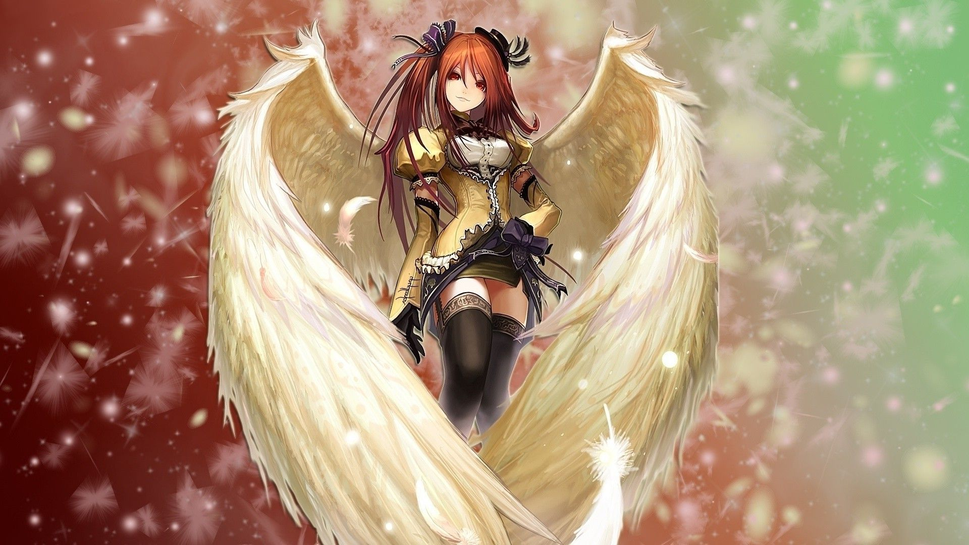fascinating-anime-angel-hd-wallpaper-widescreen-anime-angels