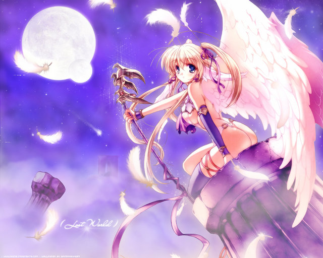 Anime Angel Girl Wallpapers - WallpaperPulse