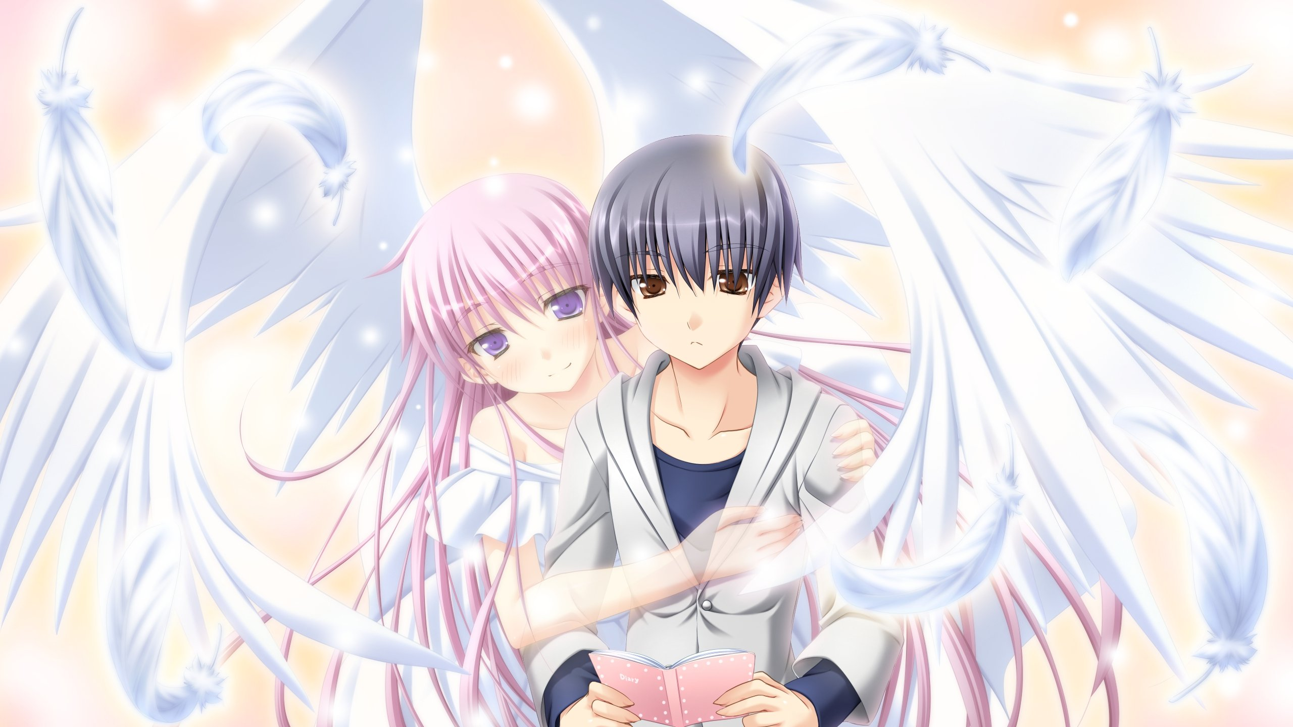 Anime Angel Boy Wallpaper Background And Demon Vampire Knight