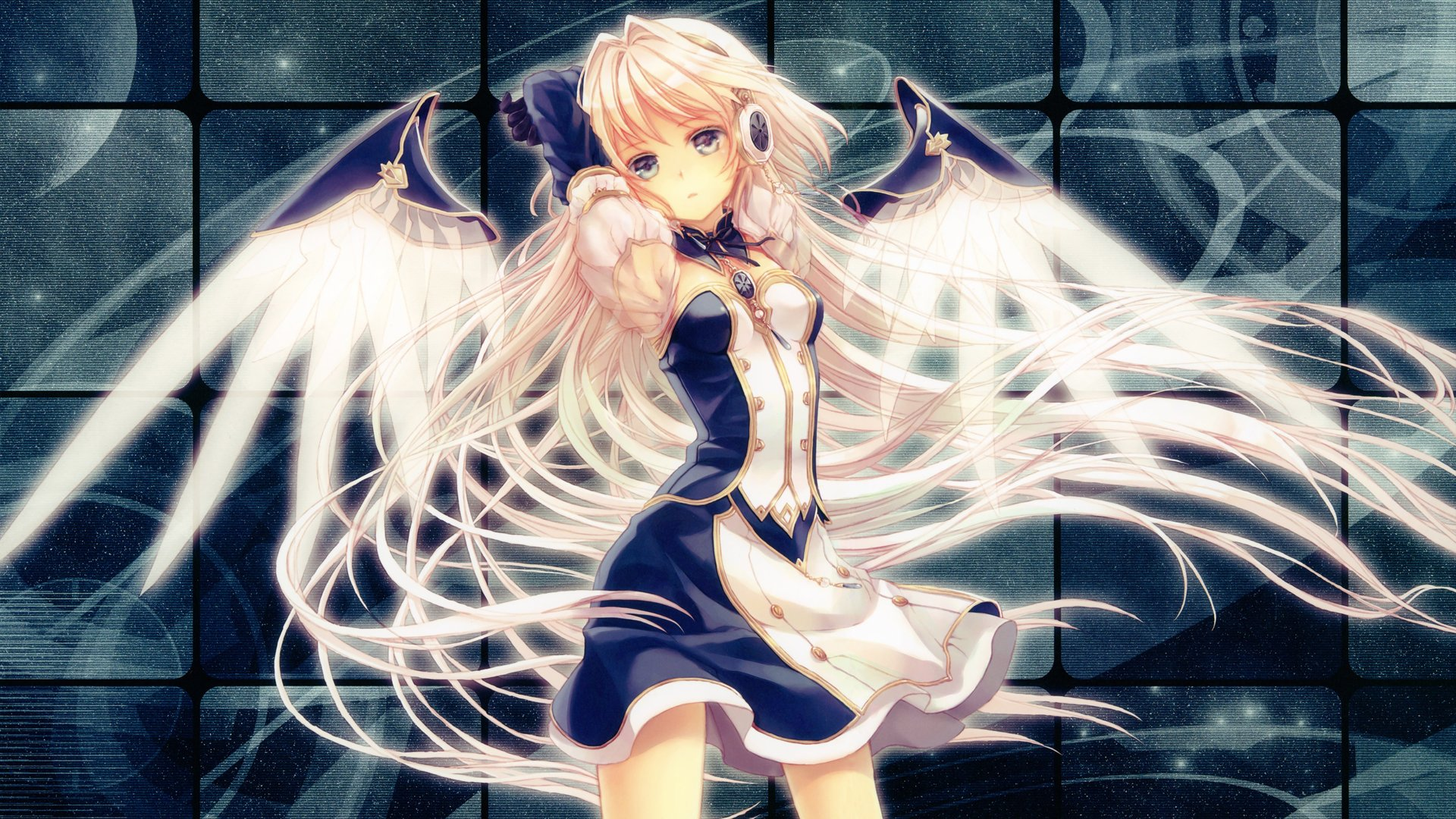 Anime Angel Girl Wallpaper