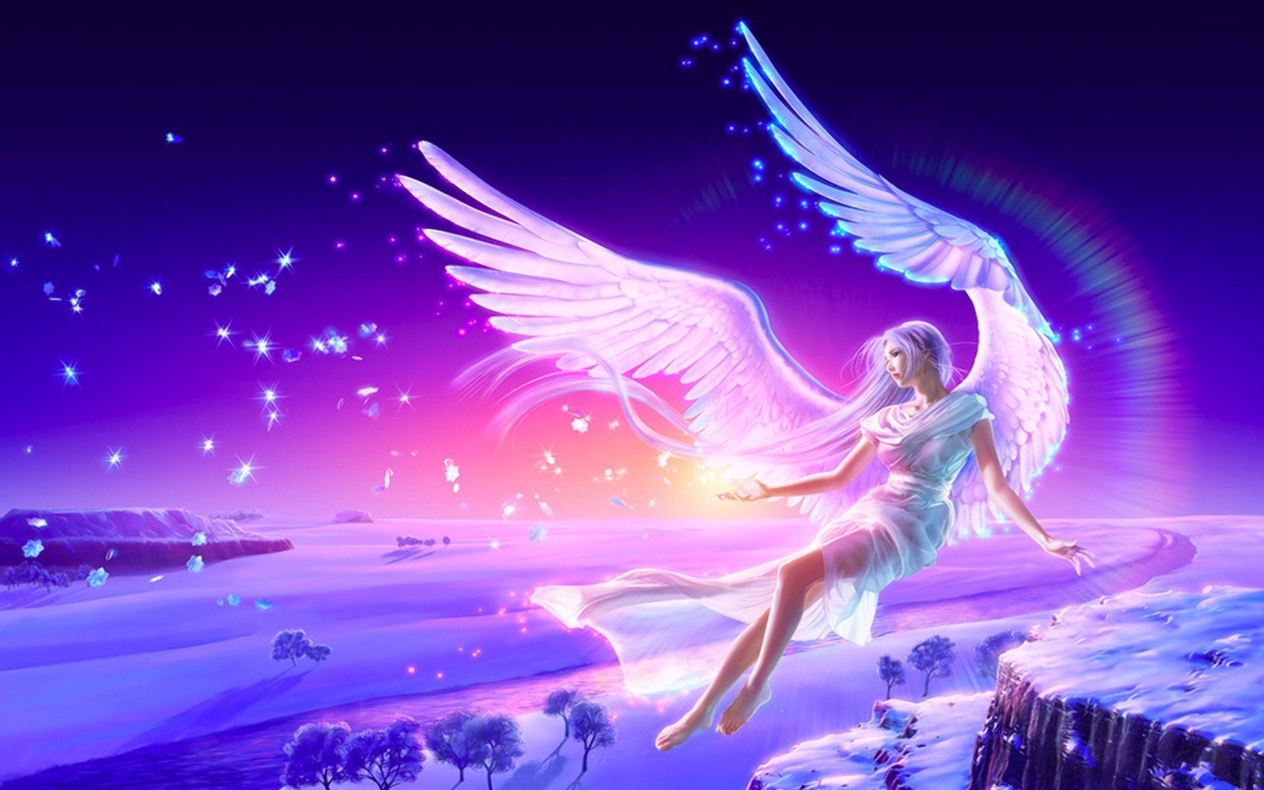 Anime Angels Wallpapers | New Anime Angel Full HD Wallpaper #4764