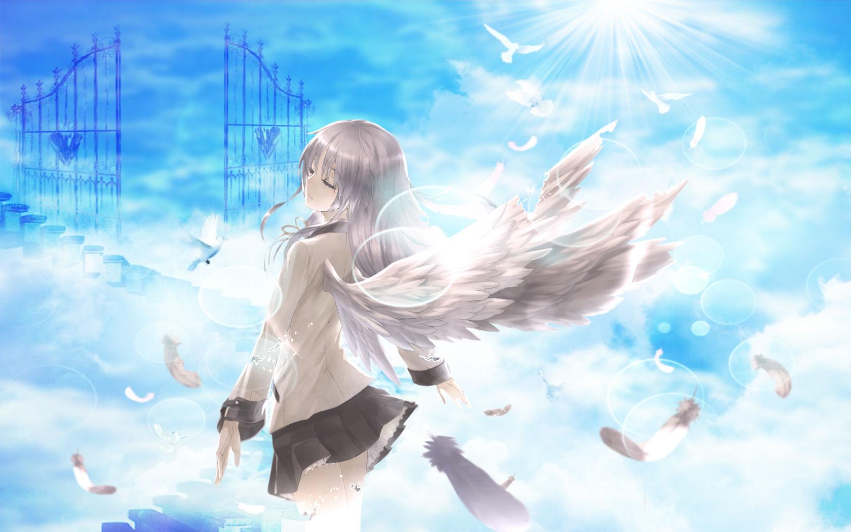 Anime Angel Wallpaper - WallpaperSafari