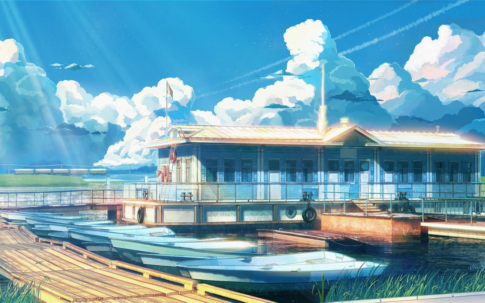 Anime Background Scenery Wallpaper For Desktop #272 Wallpaper