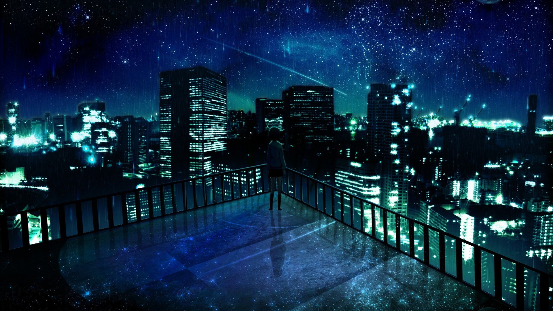 stunning anime city wallpaper 42583 | 99▲▲▲ | Pinterest