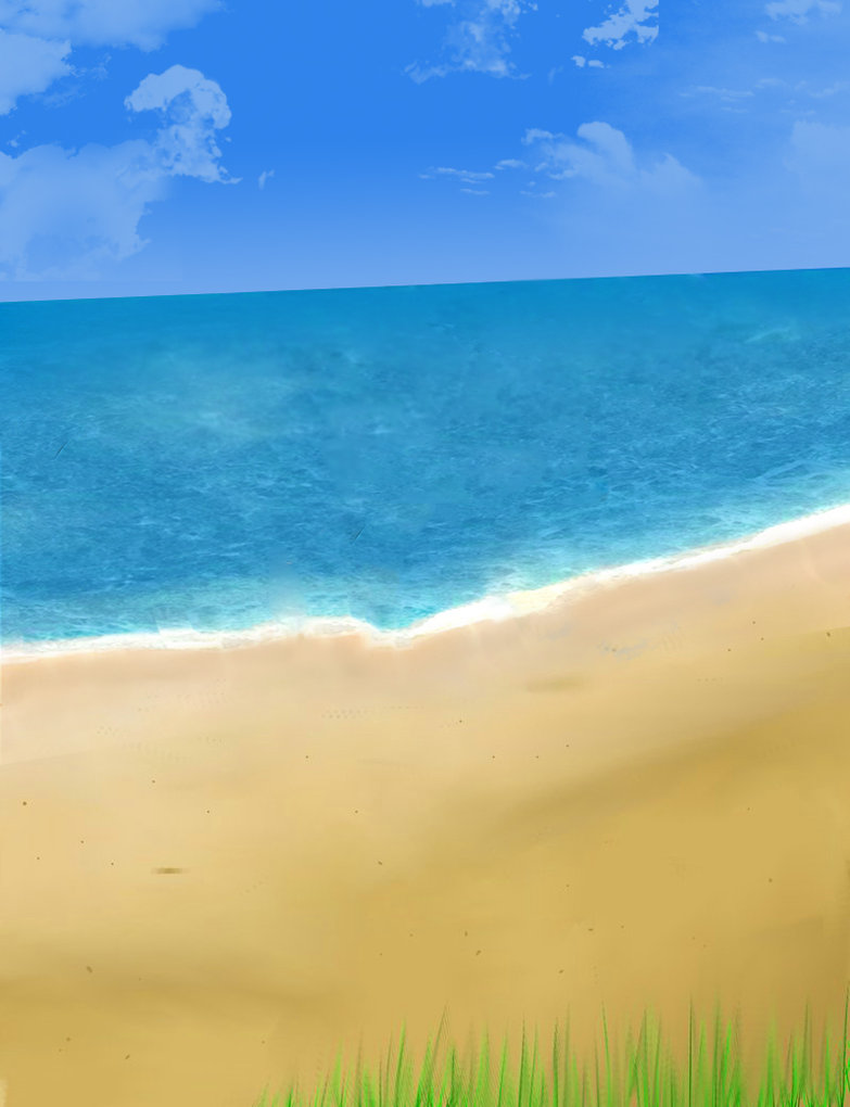 Anime Beach Background Update by NTamime on DeviantArt