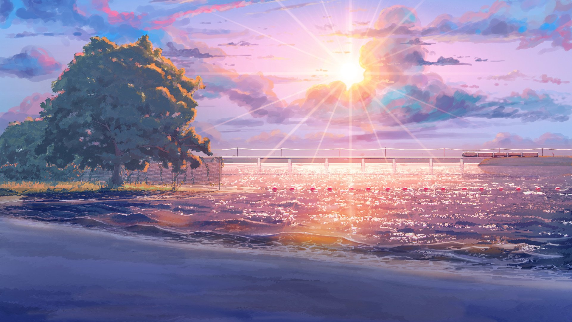 Collection of Anime Beach Wallpaper on HDWallpapers