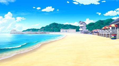 64 anime beach wallpaper Pictures