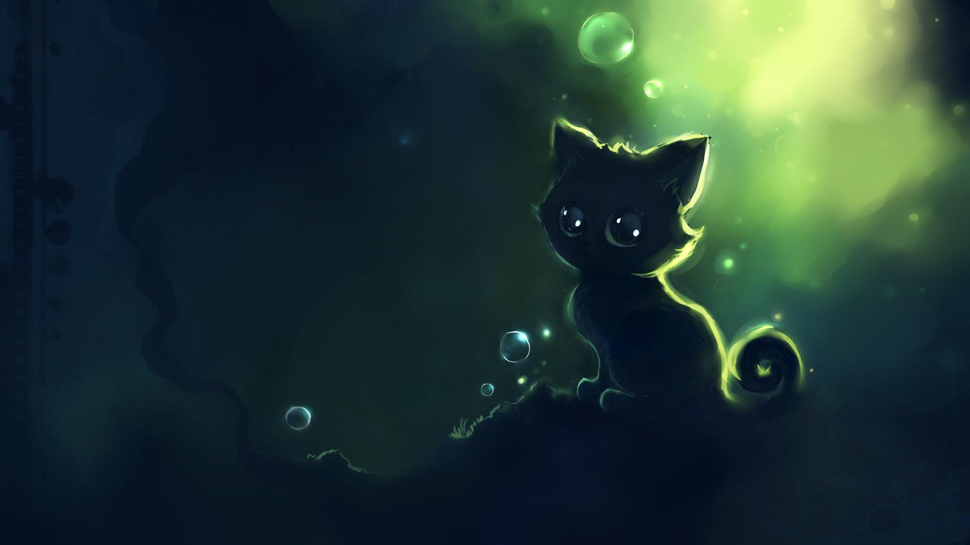 30+ Anime Cat Wallpaper by Judit Mowett, GoldWallpapers