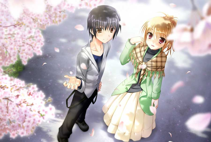 Romantic Couples Anime Wallpapers-Romantic Wallpapers-Chobirdokan