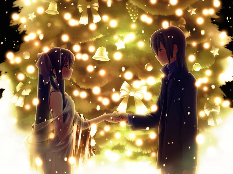 Romantic Anime couple - Anime Paradise Wallpaper