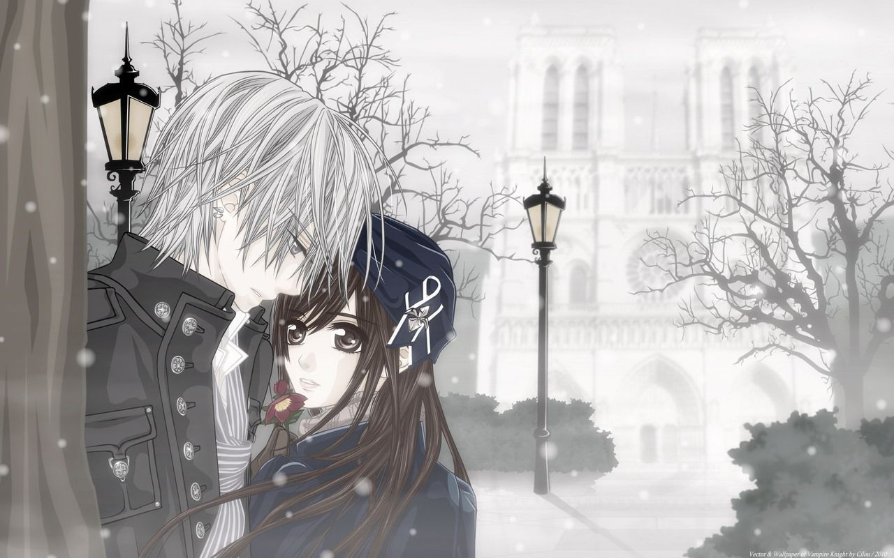 Cute Anime Couple Wallpapers - Wallpaper Cave