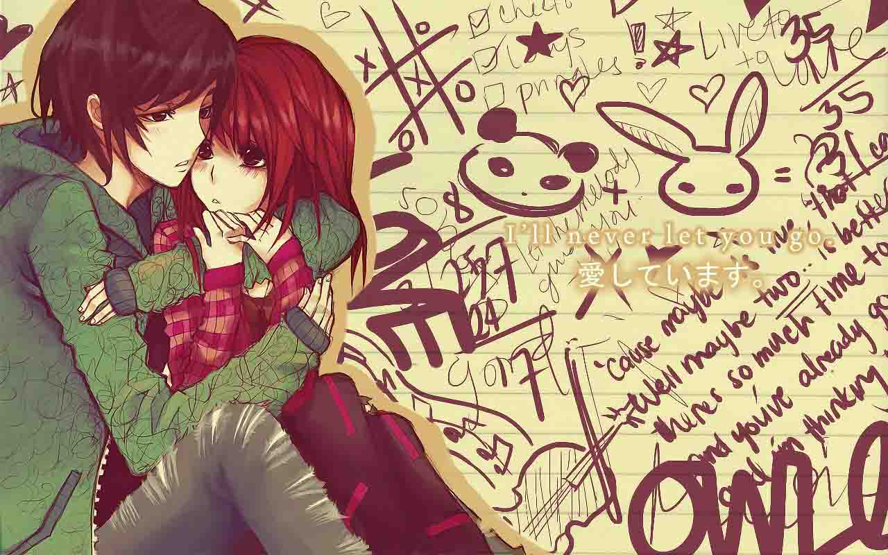 65 anime couple wallpaper Pictures