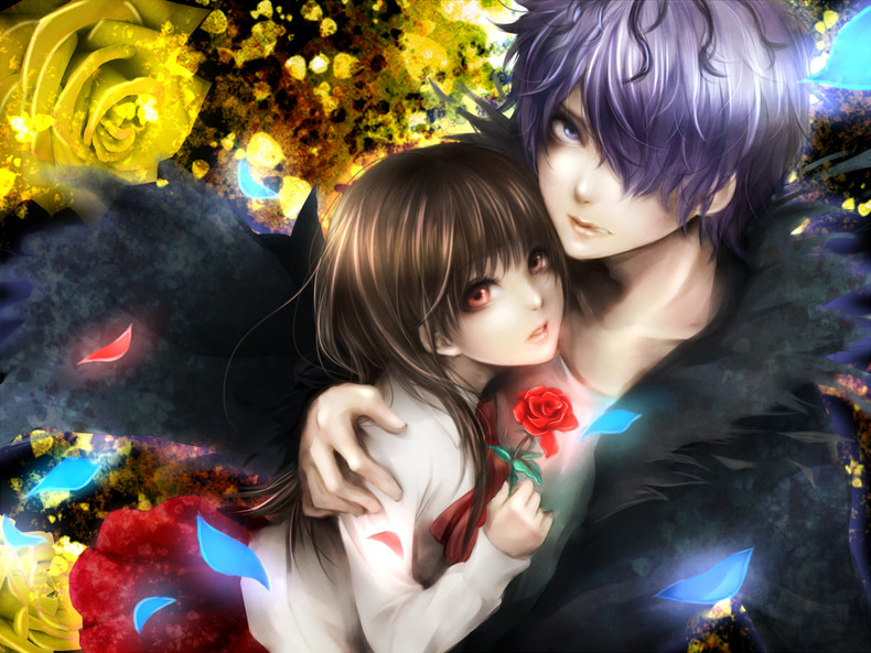 Anime Couples Wallpaper - WallpaperSafari