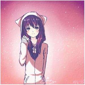 Anime Cute Girl Wallpaper Sf Wallpaper