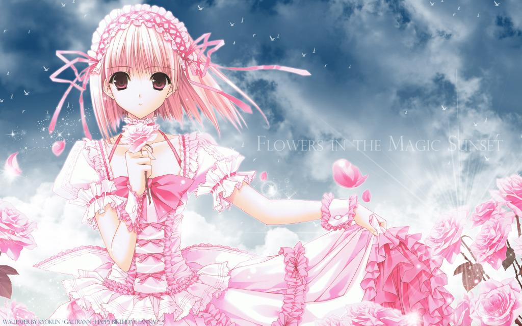 Anime Wallpapers   Cute girl anime wallpaper - Random Role Playing