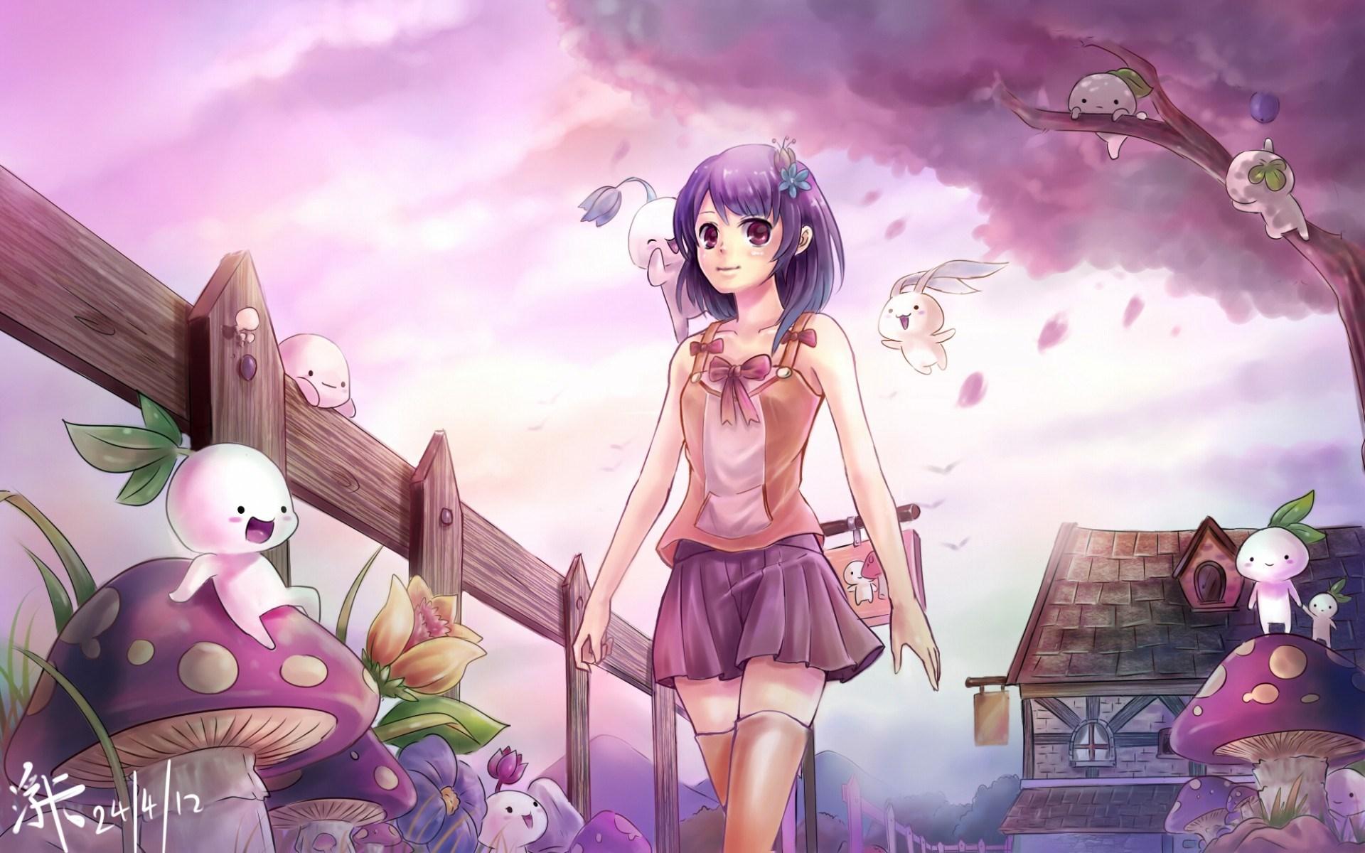 Cute Anime Wallpaper Images - WallpaperSafari