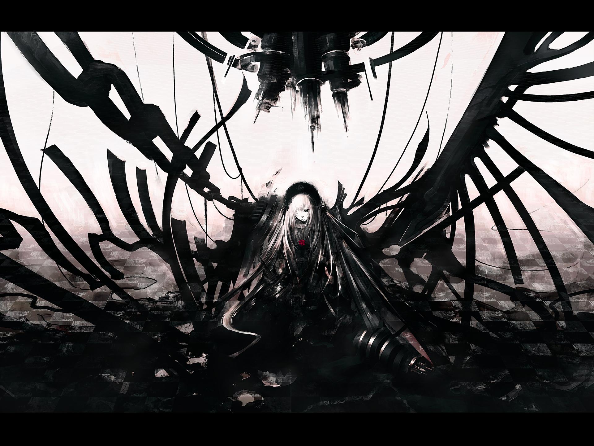 Dark Anime Wallpapers Widescreen : Anime Wallpaper - Arunnath com